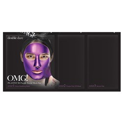 OMG Platinum Facial Mask Purple