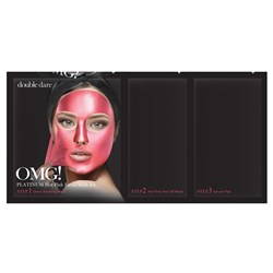 OMG Platinum Facial Mask Pink